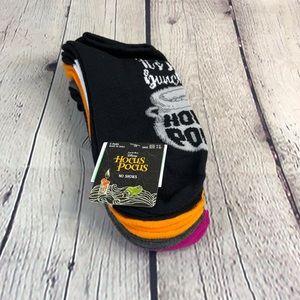 Disney Hocus Pocus Women's 5 Pack of Low Cut Socks
